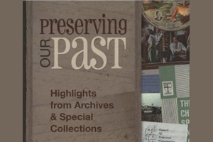 Image of the University from 1967 Preserving Our Past: Highlights from Archives & Special Collections