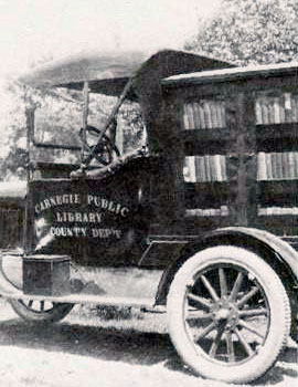 Book truck used from 1923 – 1925