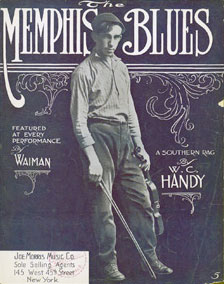 Memphis Blues magazine cover