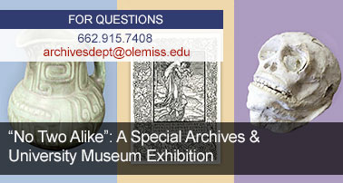 New Special Collections Exhibit