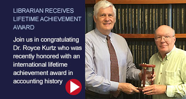 Librarian Receives Lifetime Achievement Award