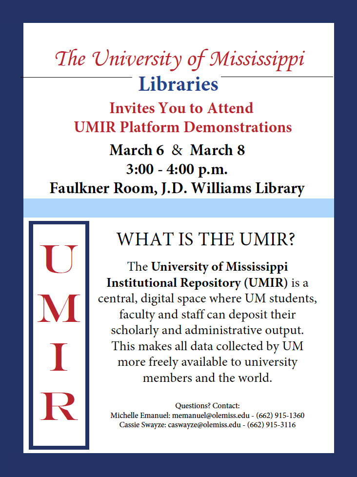 UMIR Platform Demonstrations