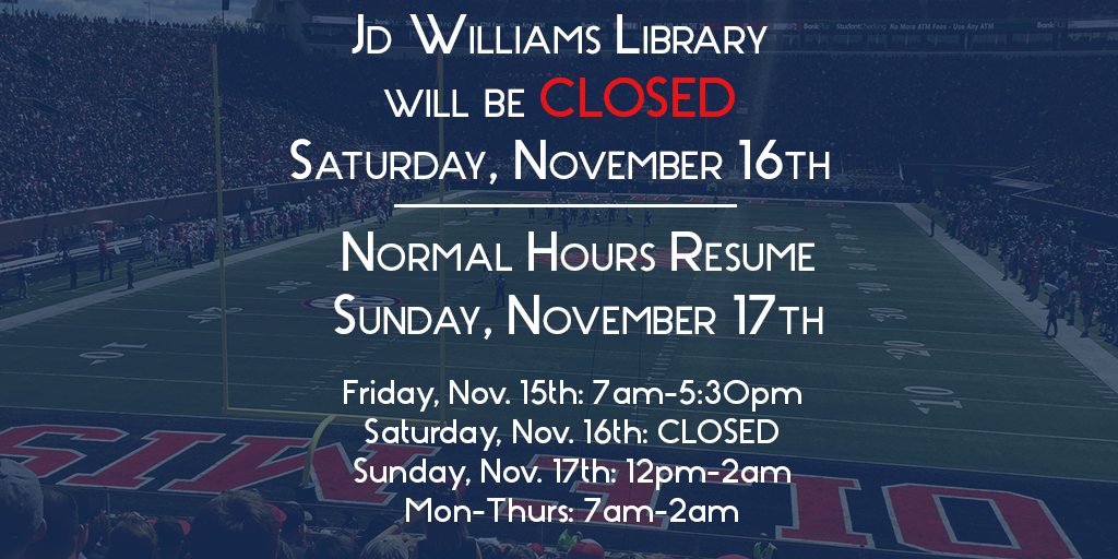 LSU Weekend Hours