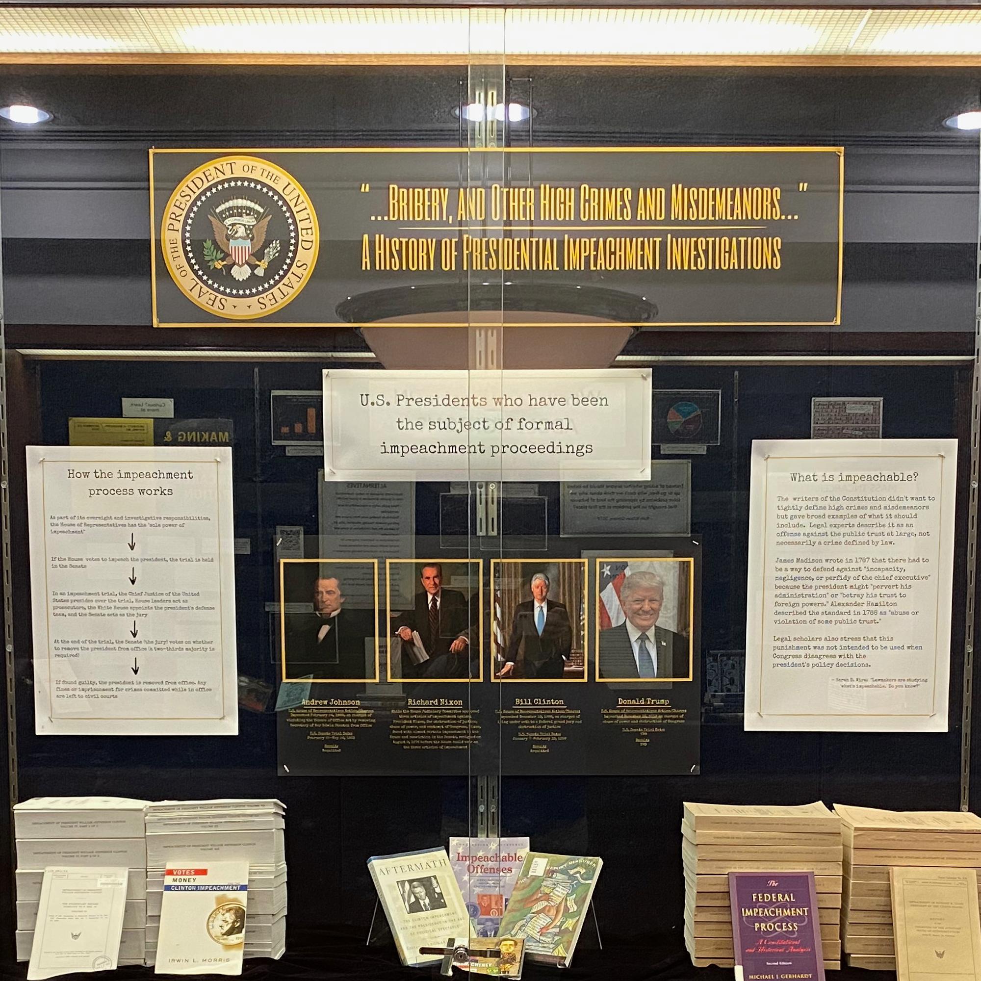 Impeachment display