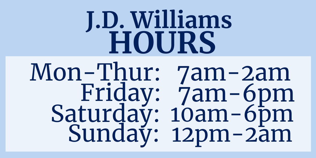 JD Williams hours