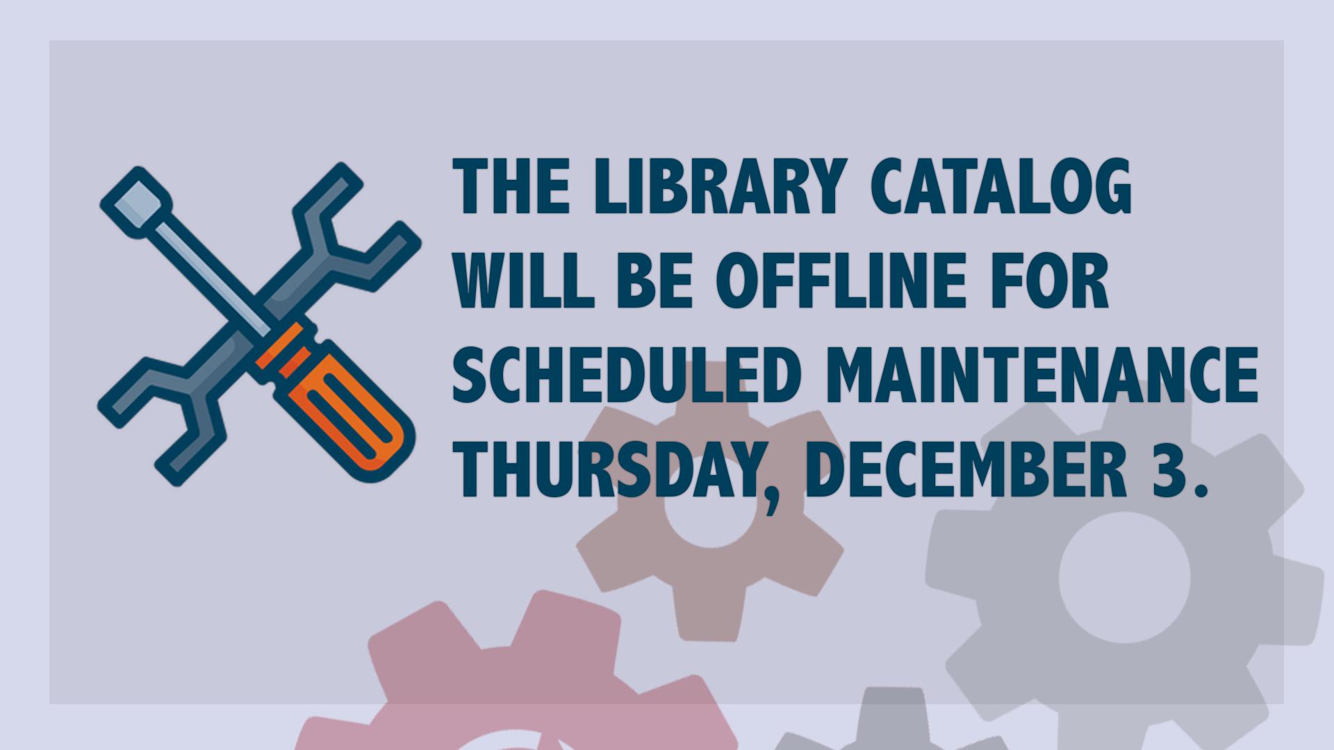 Catalog Maintenance